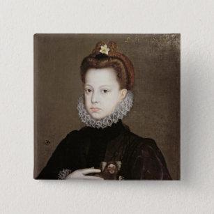Infanta Isabella Clara Eugenia Button