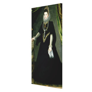 Infanta Isabella Clara Eugenia Stretched Canvas Print