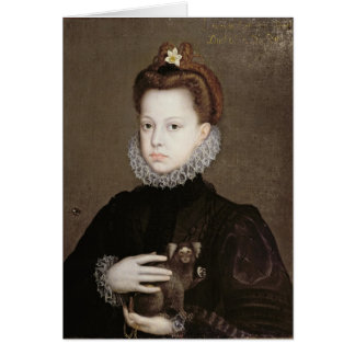 Infanta Isabella Clara Eugenia Card