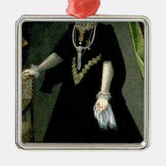 Infanta Isabella Clara Eugenia Metal Ornament