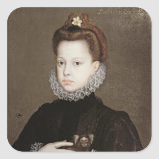 Infanta Isabella Clara Eugenia Square Sticker