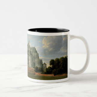Infanta Isabella Clara Eugenia Two-Tone Coffee Mug