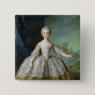 Infanta Isabelle de Bourbon-Parme  1749 Button