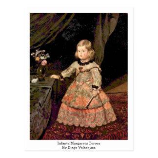 Infanta Margareta Teresa By Diego Velazquez Postcard