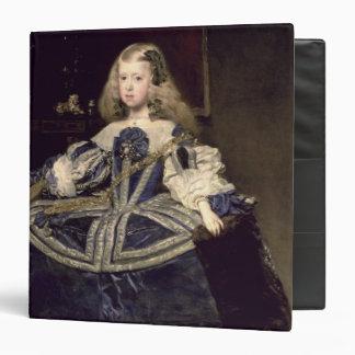 "Infanta Margarita en el azul, 1659 Carpeta 1 1/2"""