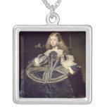 Infanta Margarita en el azul, 1659 Colgante Cuadrado