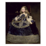 Infanta Margarita en el azul, 1659 Póster