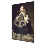 Infanta Margarita  in Blue, 1659 Stretched Canvas Print