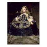 Infanta Margarita  in Blue, 1659 Postcard