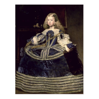 Infanta Margarita  in Blue, 1659 Postcard