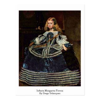 Infanta Margarita Teresa By Diego Velazquez Postcard