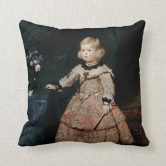 Infanta Margarita Therese Throw Pillow