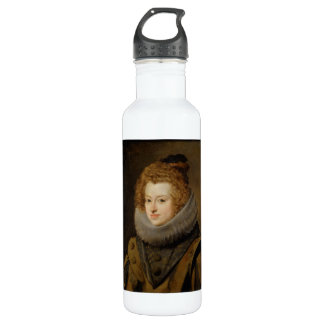 Infanta Maria of Austria by Diego Velázquez Water Bottle