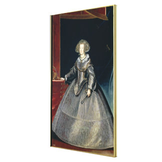 Infanta Maria Theresa (1638-83) c.1646 (oil on can Canvas Print