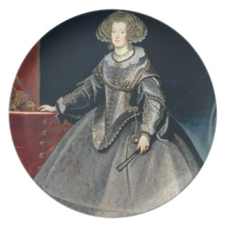 Infanta Maria Theresa (1638-83) c.1646 (oil on can Dinner Plate