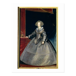 Infanta Maria Theresa (1638-83) c.1646 (oil on can Postcard