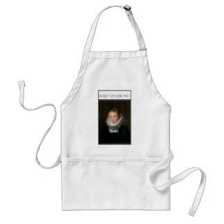 Infanta's waiting maid adult apron