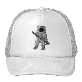Infante de marina del espacio - astronauta con un  gorro