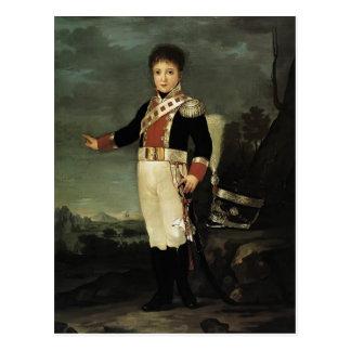 Infante Don Sebastián Gabriel de Francisco Goya- Postal