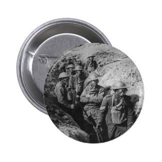 Infantería australiana que lleva respiradores de l pin