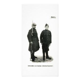 Infantería belga, Primera Guerra Mundial Tarjeta Fotografica