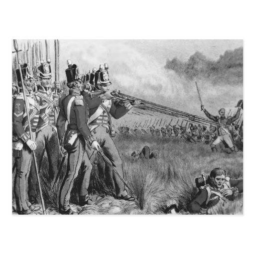 Infantería británica tarjetas postales
