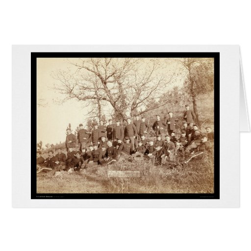 Infantería de la compañía C 3ro los E.E.U.U. en la Tarjetas