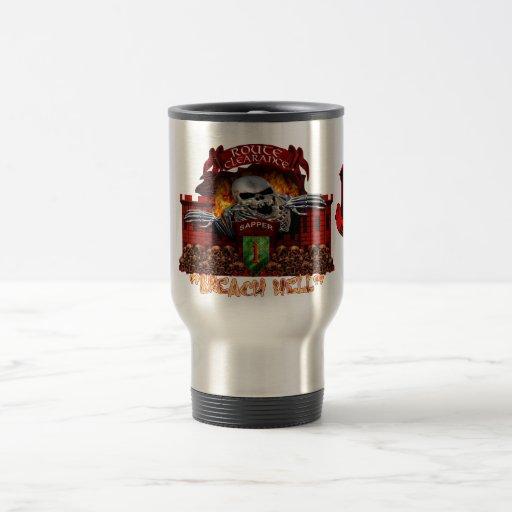 Infantería del infierno de la infracción 1ra tazas de café