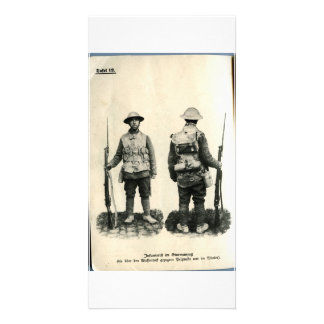 Infanterift im Sturmanzug Card