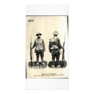 Infanterift im Sturmanzug Tarjeta Fotografica