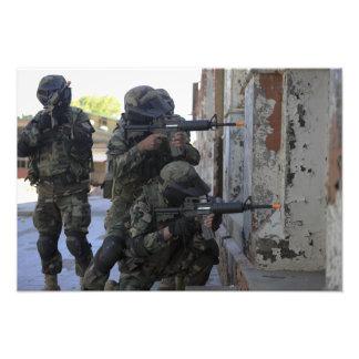 Infantes de marina chilenos cojinete