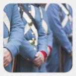 Infantes de marina civiles de la Guerra-era de los Pegatina Cuadrada