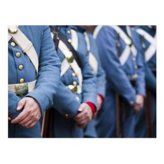 Infantes de marina civiles de la Guerra-era de los Tarjetas Postales