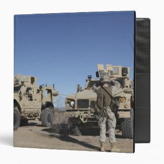 """Infantes de marina de los E.E.U.U. Carpeta 1 1/2"""""""