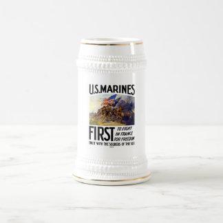 Infantes de marina de los E.E.U.U. -- Primero para Taza