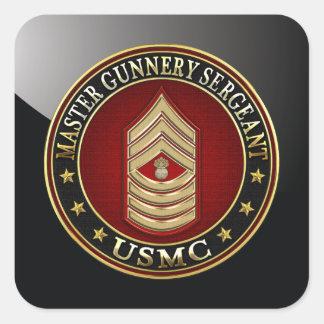 Infantes de marina de los E.E.U.U.: Sargento de Pegatina Cuadrada
