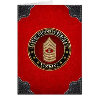 Infantes de marina de los E.E.U.U.: Sargento de Tarjeta De Felicitación