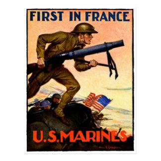 Infantes de marina de WWI los E.E.U.U. Tarjetas Postales