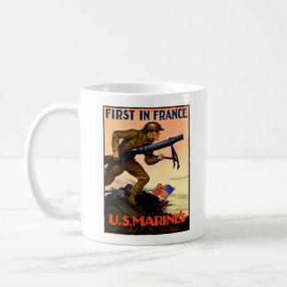 Infantes de marina de WWI los E.E.U.U. Taza Clásica