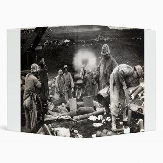 """Infantes de marina de WWII LOS E.E.U.U. en Iwo Jim Carpeta 1"""""""