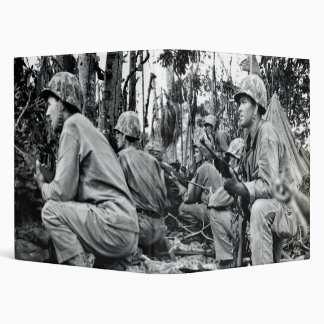 "Infantes de marina de WWII LOS E.E.U.U. en Peleliu Carpeta 1"""