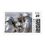 Infantes de marina del bombero del rescate de los sellos