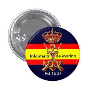 Infantes de marina reales españoles pin redondo 2,5 cm