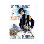 Infantes de marina tarjetas postales