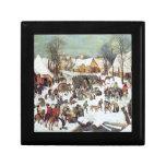 Infanticide in Bethlehem by Pieter Bruegel Keepsake Boxes