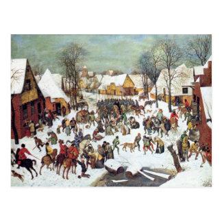 Infanticidio en Belén de Pieter Bruegel Postales