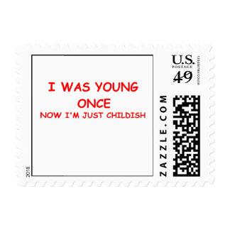 infantil sellos