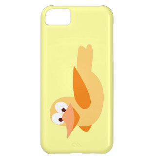 Infantile drawing funny duck flying case for iPhone 5C
