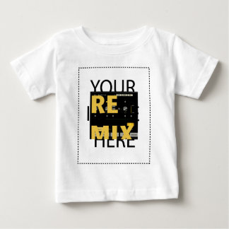 Infantile model of vertical of T-shi- Customized Baby T-Shirt
