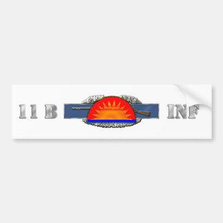 INFANTRY 11B 41st Infantry Brigade Combat Team Bumper Sticker